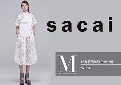 本季Sacai将休闲与运动合而为一,主色调为黑白灰,其中融入偏灰的墨绿色以及烟熏紫,造型上采用轻薄而带有独特的廓形感,精致迷人、轻松自然,塑造出低调而知性,简洁而干练的女性形象。