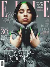 《Elle》瑞典版時尚女裝雜志2019年11月號