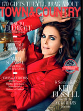 《Town & Country》美国女装时尚杂志2019年12月-2020年01月号