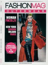 《Fashion Mag》2020-21年秋冬意大利女装发布会外套款式系列杂志
