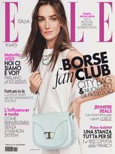 《Elle》意大利版时尚女装杂志2020年06月号
