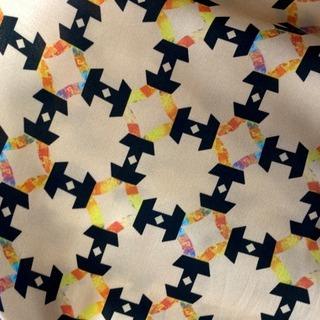 大湾区服装服饰博览会 棉 印花 图形 几何