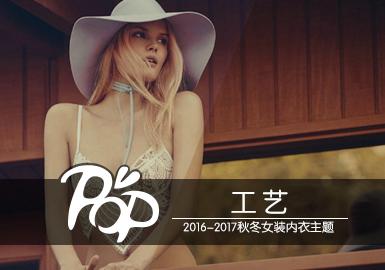 2016-2017秋冬女裝內衣主題--工藝