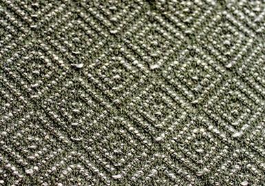 顶尖的纺织厂在亚洲一流国际资源展会上展出纤维、纱线、创新的针织品和针织面料。