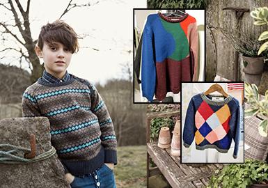 <APM2>男童--潮流绅士之复古毛衣