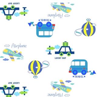 矢量圖 eps 滿身圖案 小汽車 可愛卡通