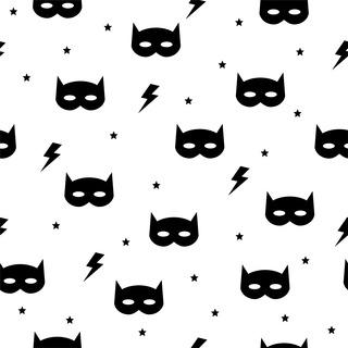 矢量圖 eps 嬰幼童花型 滿身圖案 閃電 蝙蝠俠 可愛卡通