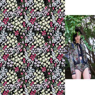矢量图 psd 满身图案 碎花 大牌图案 写意花卉 休闲风 热带风格