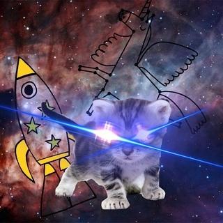 矢量图 psd 局部图案 太空 火箭 星座
