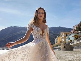 2022春夏纽约《Ines Di Santo》婚纱礼服发布会