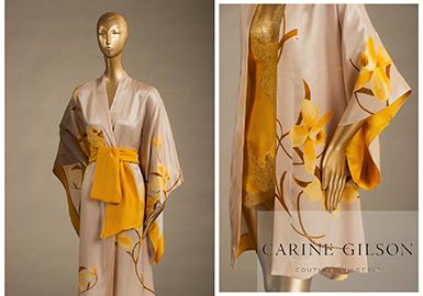 欧洲设计师品牌Carine Gilson( C.Gilson)由同名设计师于1994年创立。该品牌内衣采用里昂丝绸、尚帝伊蕾丝花边作面料,以丰富的颜色和得体的剪裁,结合时装的设计手法,满足女人关于精致、高贵及性感的渴望,并被纳入国际奢侈内衣品牌之列。