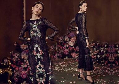 Marie Elie 一个带有梦幻色彩的轻奢品牌,延续着法国浪漫主义精神,采用真丝、提花、毛呢、皮草等高档面料,结合精湛的手工工艺使每一件衣服变得优雅而精致。Marie Elie品牌总店位于巴黎市中心塞纳河边毗邻巴黎圣母院,如今Marie Elie拥有世界各地的消费者,衣服款式系列涵盖各个年龄阶层,青春洋溢的少女和成熟优雅的女士都能在Marie Elie成衣系列里找到自己心中所爱。