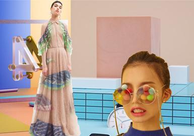 2019春夏女裝禮服色彩趨勢預測--漸變色系