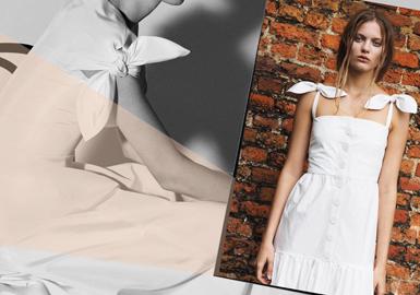 2019春夏女裝婚紗工藝趨勢預測--肩領設計