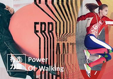 2019春夏女装年轻主题企划--行走力量