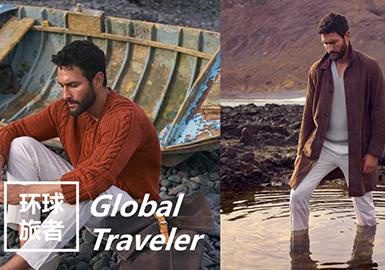 2019春夏青年男裝企劃設計--環球旅者