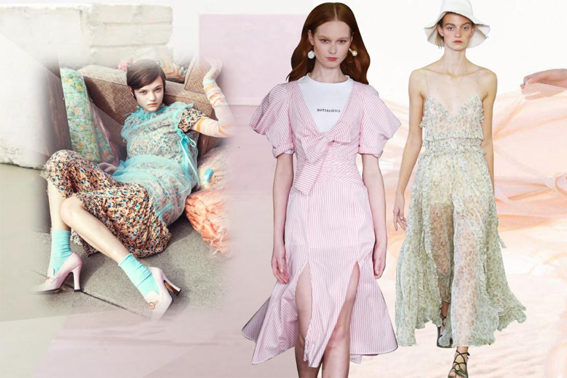 2019春夏女裝連衣裙廓形綜合分析--遲來的優雅