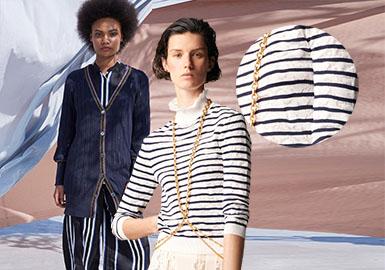2019早春T台上,女装毛衫款式虽然占比不大,各品牌推出的毛衫款式却十分精彩,特别是在针法的运用上,呈现出十分多变的面貌,给设计师们带来了灵感。