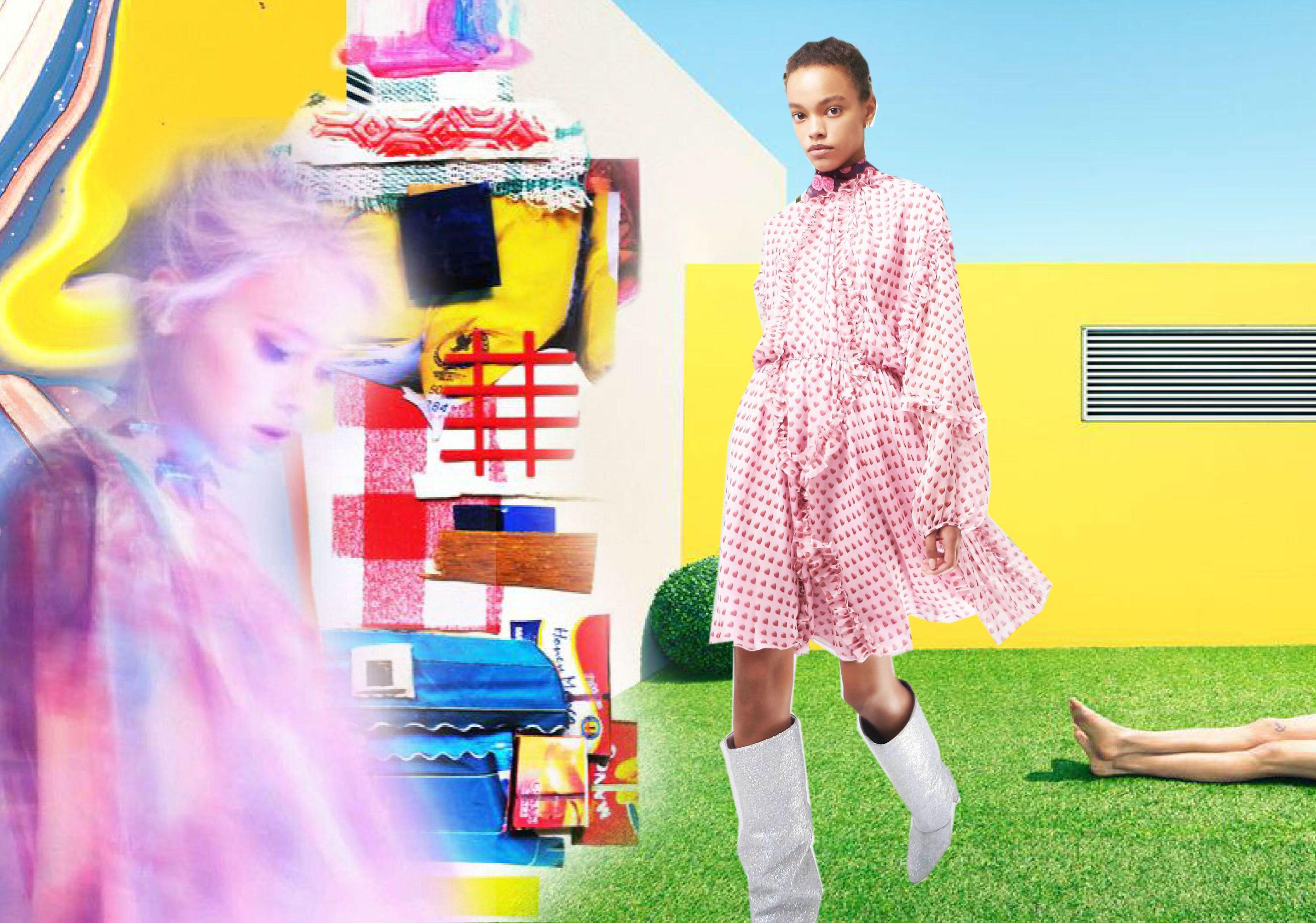 2020春夏女装连衣裙轻薄面料色彩趋势--梦幻粉彩