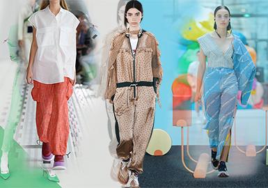 2020春夏女装廓形趋势预测--裤型篇