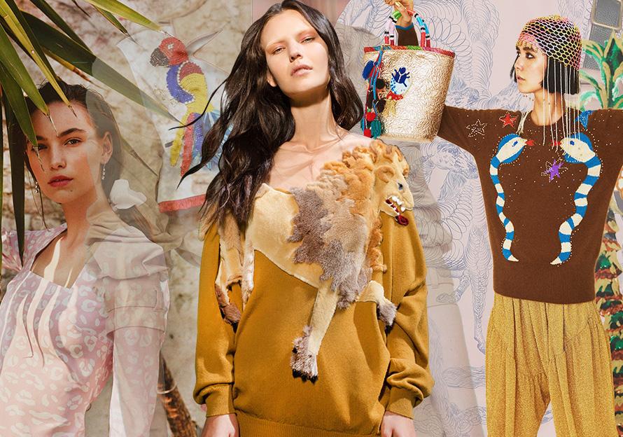 2020春夏女装图案趋势预测--珍奇异兽