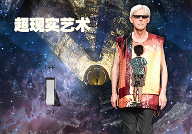 19/20秋冬男装图案趋势预测--超现实艺术