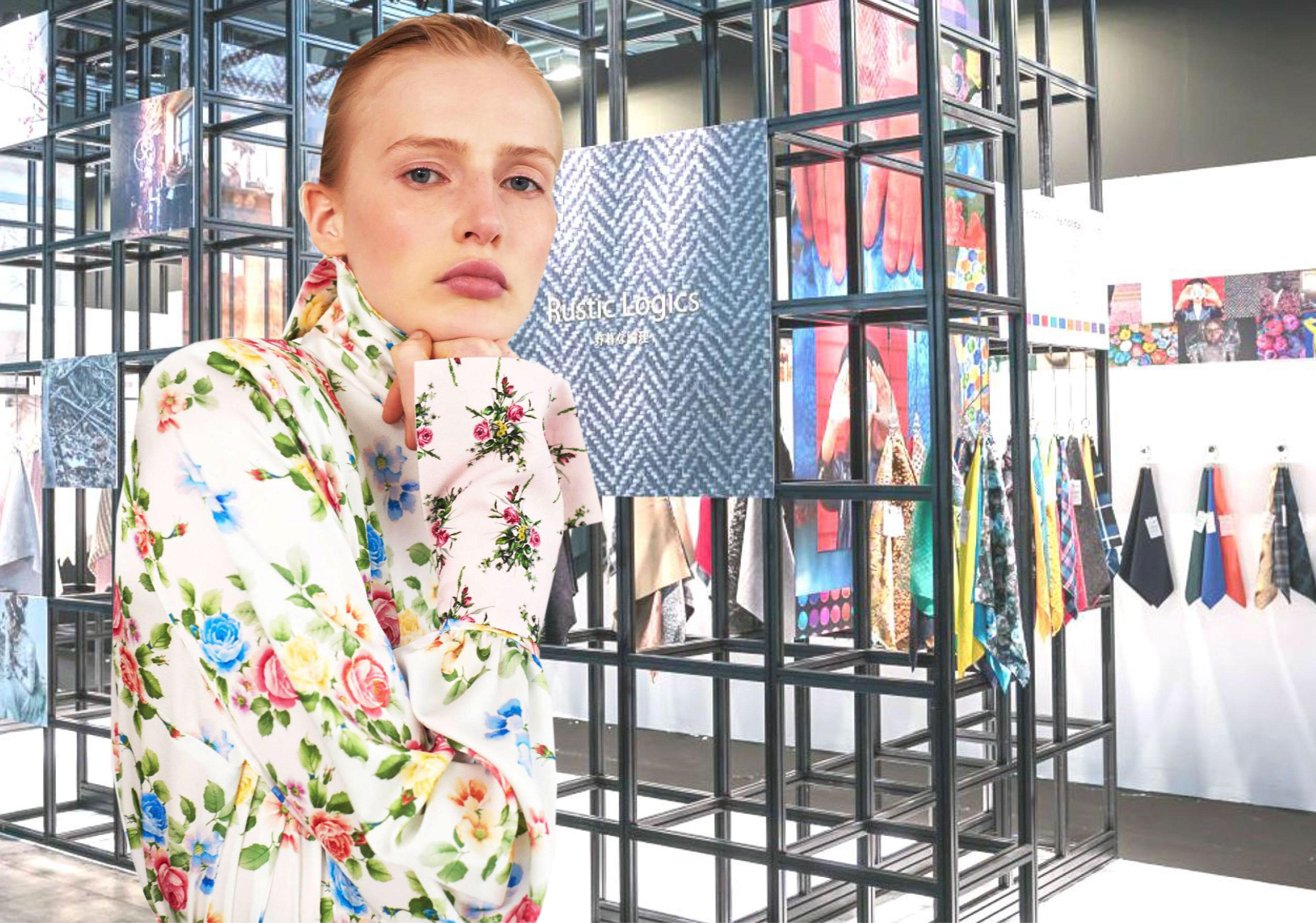 米蘭Milano Unica紡織面料展,呈現了各大印花工作室新鮮出爐的最新季設計。規模之大意味著買手能有更多時間造訪各個工作室,挑選2019/20秋冬的新穎印花面料 提花面料等,買手們根據近期的T臺趨勢搜尋新意。