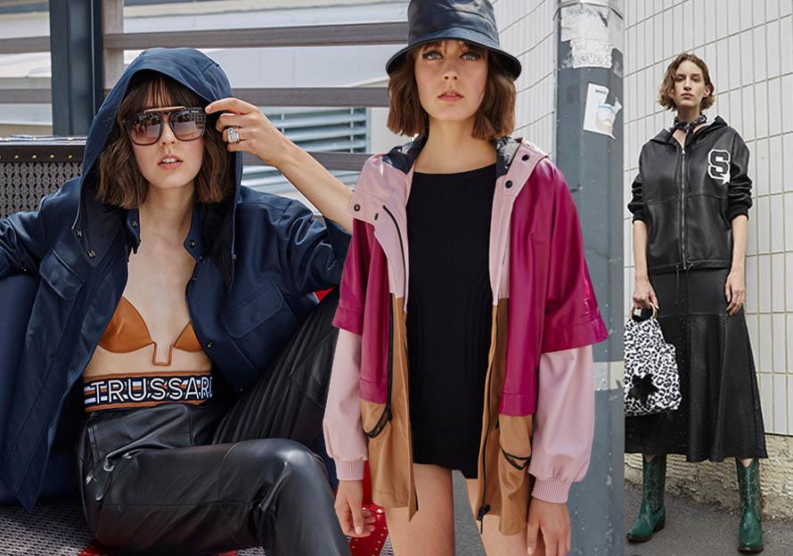 2020春夏女装皮衣廓形趋势预测--运动风潮
