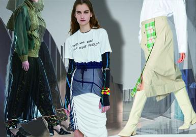 2020春夏女装半裙廓形趋势--风姿多样性