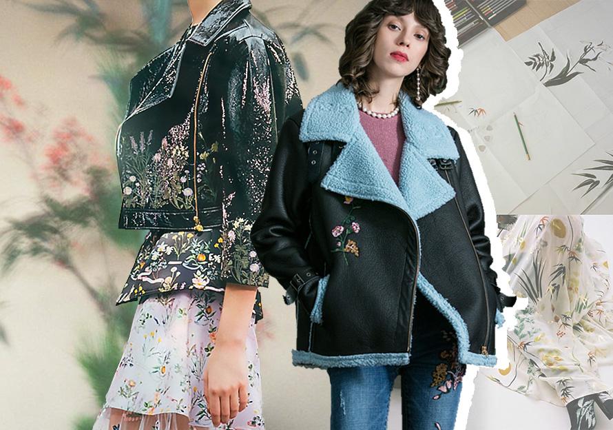2020春夏女装皮衣工艺趋势预测--百变刺绣