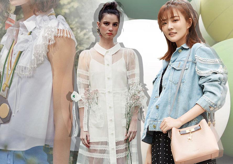 2019早秋女裝面輔料趨勢預測--珍珠