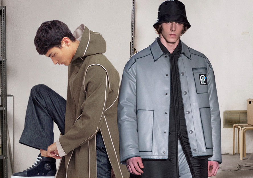 2020春夏男装皮衣工艺趋势预测--边缘设计