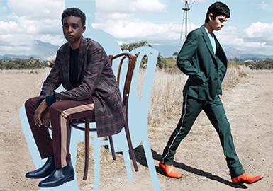 2020春夏男装细节工艺趋势预测--时尚商务裤装