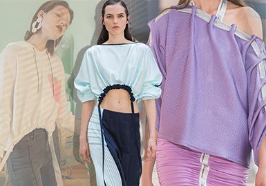 2020春夏女装裁剪工艺趋势预测--量感堆积