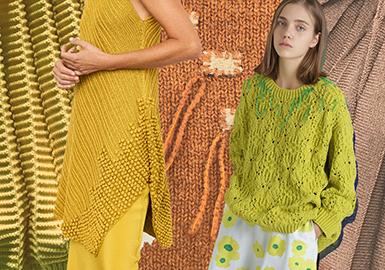 2020早春女裝毛衫針法趨勢--喚醒