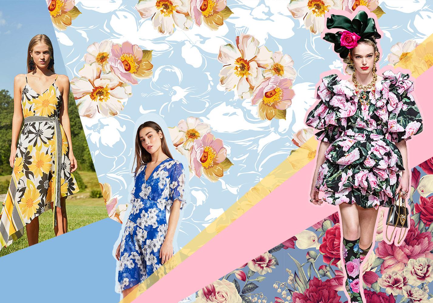 2020春夏女装图案趋势预测--繁花秘境
