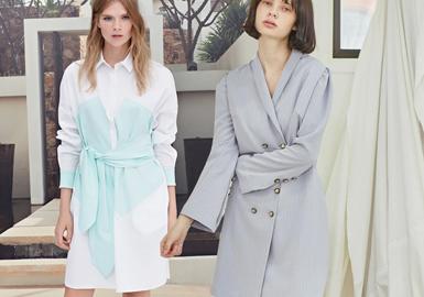 2020春夏女裝連衣裙廓形趨勢--多樣風姿