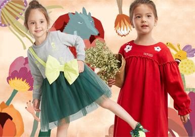 连衣裙是女孩们一年四季的必备单品,在本季中,设计师们从廓形到细节、通过改变连衣裙腰节的大胆设计到荷叶边的灵活运用;从面料到工艺,在加入柔美的薄纱材质,同时融入各种碰撞的拼接和贴布工艺,将本季的连衣裙打造成为一枝独秀的单品。