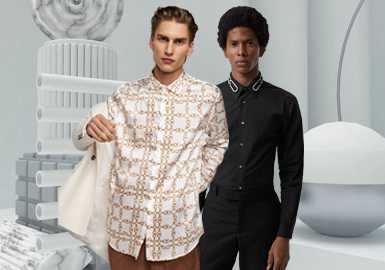 2020春夏男装廓形趋势预测--时尚商务衬衫