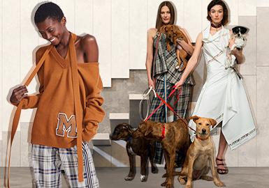 纽约时装品牌Monse把解构主义玩得优雅前卫,各种不规则和不按常理出牌的风格,俘获了一大批明星粉丝,从欧美风靡到国内。2019早秋系列与纽约地区的六个宠物救援组织合作组建动物避风港,促进救助犬的培养,将人类对动物的热爱与时尚紧密联系起来。
