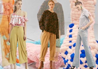 裤装是日常穿搭中的重要单品之一,好的裤子可以提升整体的时髦度,本季设计师品牌将会注重运动风格的演绎,打造适合高街潮流的裤装。