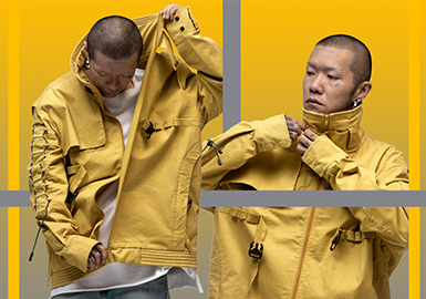 20/21秋冬男装细节工艺趋势预测--创意夹克