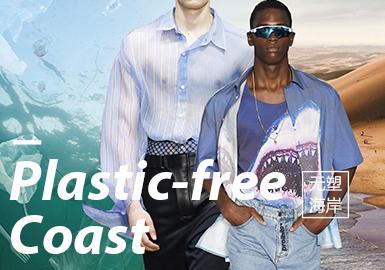 2020春夏男装主题面料趋势预测 -- 无塑海岸