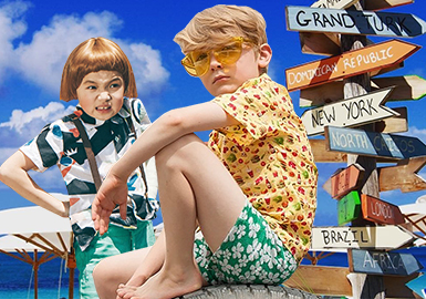 2020春夏男童主题趋势预测--夏威夷男孩