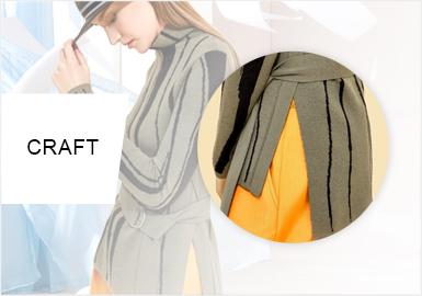 率性剪裁--女裝毛衫工藝趨勢