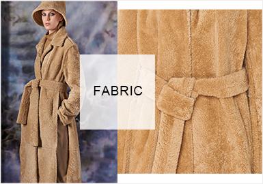 暖冬颗粒绒--女装皮草面料趋势