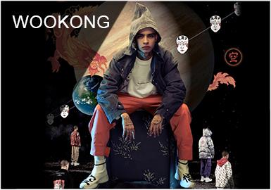 WOOKONG(悟空),中国传统艺术与潮流元素相结合为理念的原创品牌。2010年诞生于上海,由毕业于中国美术学院的新锐设计艺术家吴经歆创立。