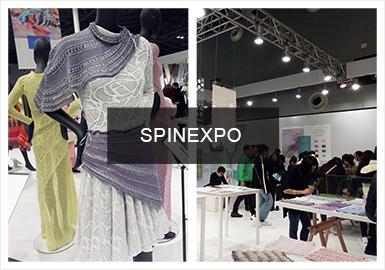 """2020春夏上海SPINEXPO国际纱线展的基调是纺织行业的科技创新、环保政策与生态责任之间的严峻挑战,强调对纺织行业未来发展的思考。本篇承接《2020春夏上海SPINEXPO国际纱线展会分析(一)》,主要对""""材料创新""""、""""生物构造""""、""""现代复古""""三个主题展开分析。"""