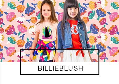 法国的Billieblush是针对0-16岁的童装品牌。其风格如同五彩斑斓的?#20301;?#19968;般富有诗意。着眼于精致的细节设计,大胆而富有创意,堪称儿童时尚世界里的新?#22763;?#27668;。本季?#21512;?#31995;列中,炫丽的彩虹、抽象的艺术、可爱的小动物和花卉都给设?#21078;?#24102;来了无限的灵感,结合Billieblush一贯的精美细节,2019?#21512;牡目?#24335;令人爱不释手。