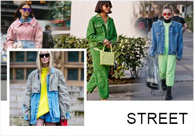 牛仔外套自上世紀 60、70 年代流行以來,就一直是自由、個性、青春的代名詞。隨著這幾年小眾、大牌對牛仔外套的不斷改良,它早已不是單一版型的街頭爆款。每一件都有獨特時髦的時尚態度,成為了最能穿出個性風范的百搭寵兒!